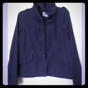 Forever 21 Women utility jacket with hood size S